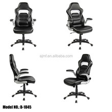 High back leather recaro office gaming chair racing ergonomic