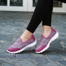 fashion soft sole women running sneakers comfortable mesh sport shoes 2017