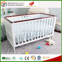 Factory Cheap Price EN716 Wooden Baby Cot Toddler Baby Bed