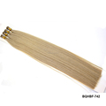 Wholesale virgin remy cuticle russian hair fusion keratin stick I tip extension
