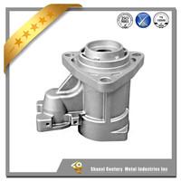 Precision investment casting for valve