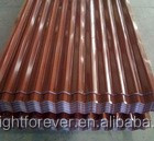 Corrugated Steel Roofing Sheet / Zinc Aluminum Roofing Sheet