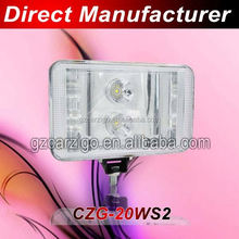 China manufacturer minimum price fast lead time Minivan accessories blue point work light