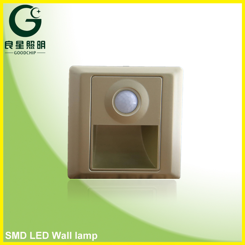 High Quality Wireless Led Wall Lamp Emergency Light 1.5w IP33
