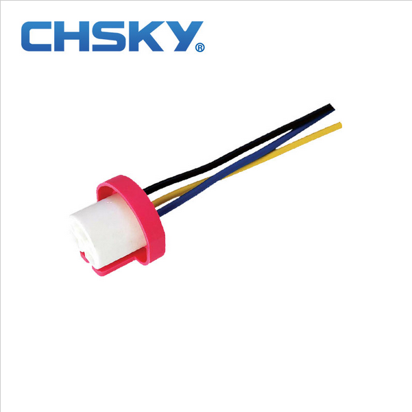 Chsky 13 experience 3C ISO9001 excellent heat corrosion resistance 9004 ceramic bulb holder headlight bulb connector