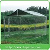 factory wholesale garden and backyard steel frame galvanized steel dog kennel