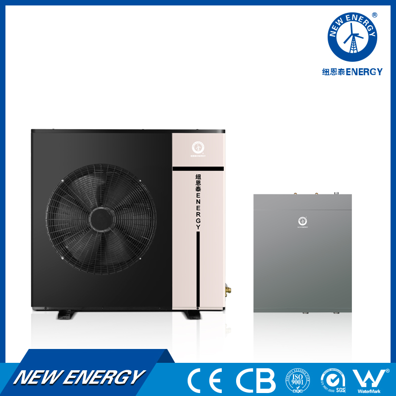 CE Approved Cold Climate 8KW 10KW 12KW Monobloc Air Source EVI Heat Pump