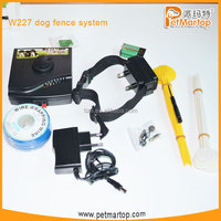 2014 dog electric fencing system W227 with Waterproof collar