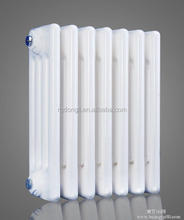wall hung steel radiator for central heat , wall mounted hot water 4 Column Horizontal White radiator - 300mm (H) x 1010mm(W)