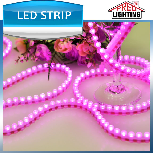 High quality waterproof IP68 dip led strip 96leds per meter 12V great wall led strip