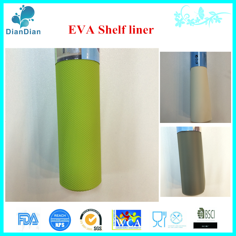 eco friendly eva drawer liner colorful shelf liner