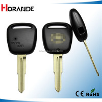 Best price keys for toyota remote key shell left blade one button on side