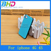 Double Color Injection TPU Soft Case for iphone 4 4g