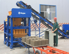 Made-in- China building construction machines for concrete blocks / building block making machine