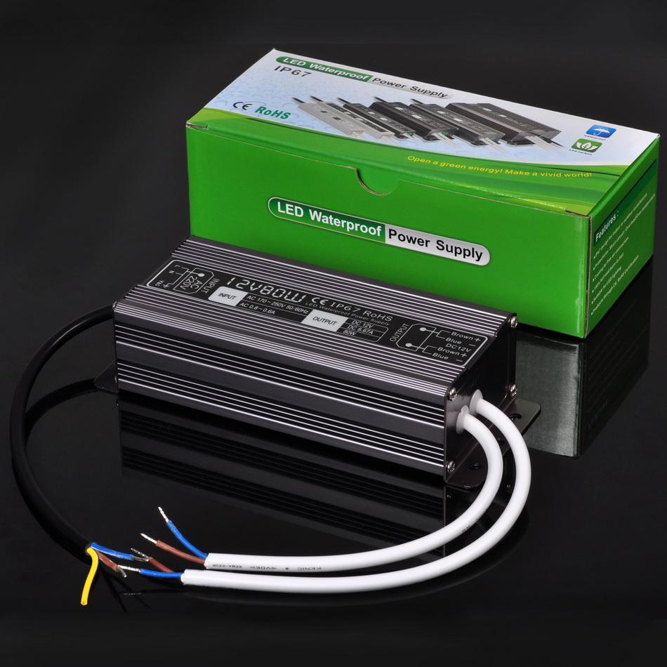 Waterproof el wire driver power adapter v atv