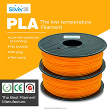 Professional Black/White/Blue/Red 1.75mm PLA 3D Printer Filament, 1kg (2.2lb) Filament Weight, +/- 0.05mm Tolerance...