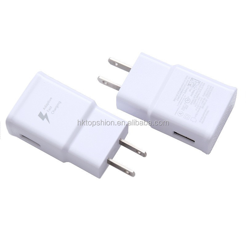 Adaptive Fast Charging USB Travel Charger For Samsung, USB Wall Charger for Samsung, US/UK/EU/AU Standards