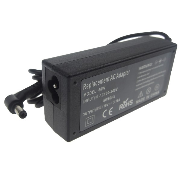 9 years manufacuturer produce 5.5*2.1MM 19V 3.16A laptop ac dc psu power adapter charger for acer