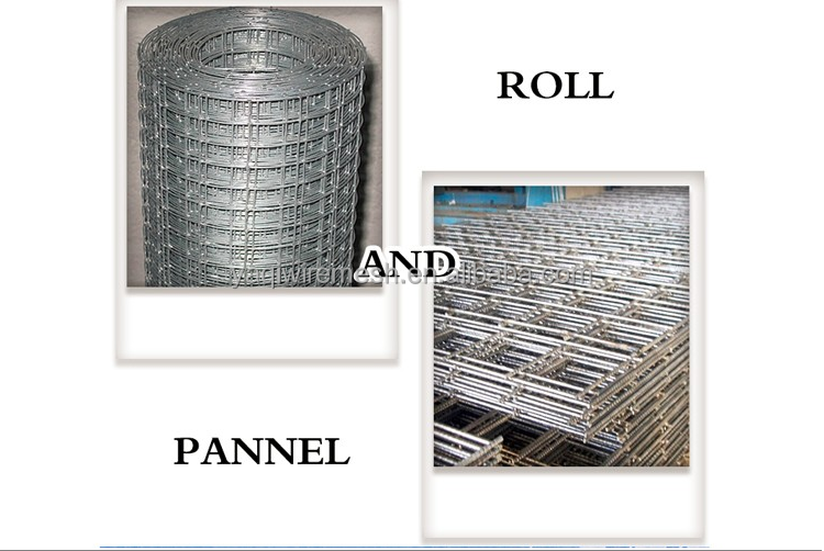 Factory Offer Welded Iron Wire Mesh 50x50 / welded wire mesh panel / welded mesh sheet