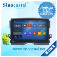 Low cost 10.1 inch Android 5.1.1 OS Quad core RK3188 1.6ghz OBD Rear view TPMS IPAS touch screen DVD player for car
