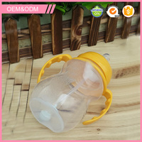 hot sell 2015 new products flexible handle water bottle baby care pp bottle