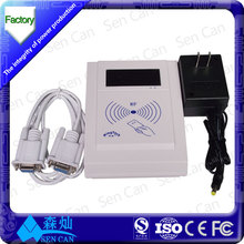 125KHz proximity card reader,European style c# code usb rfid card reader/writer for office use MRF-35
