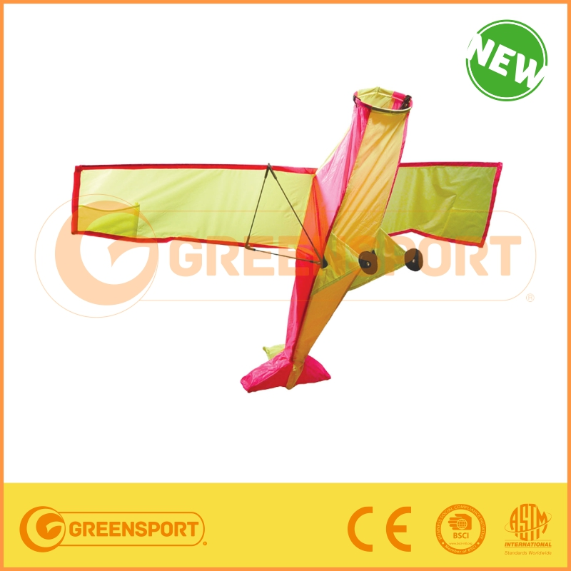 2015 Hot Sell cheap popular item Plane Model 3D Nylon Kite for kids gifts