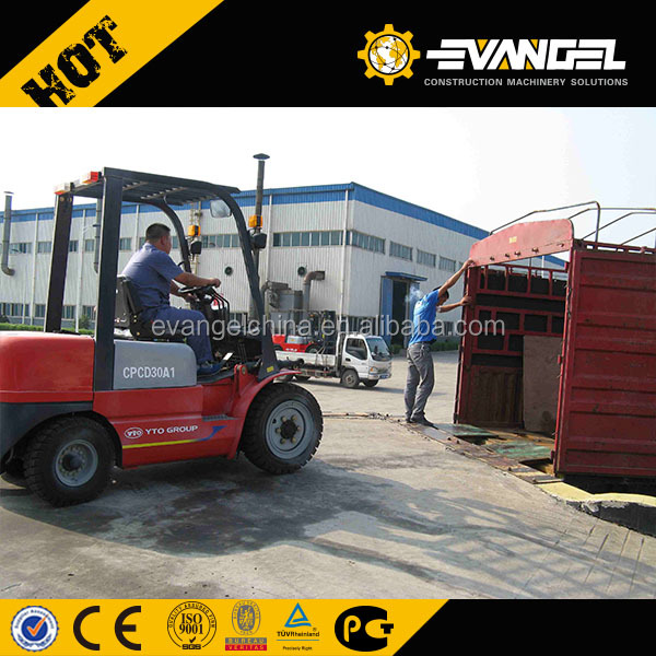 3 ton side loader forklift Price/forklift tyres prices