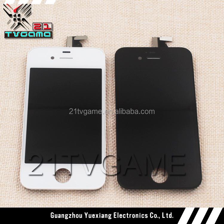Brand New Replacement for Iphone 4S Lcd Screen Digitizer LCD Assembly Display with Frame,White and Black Color Available