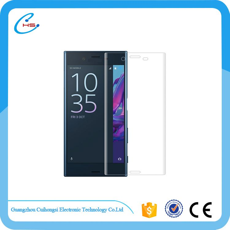 Factory sale superior quality clear screen protector glass for sony xz