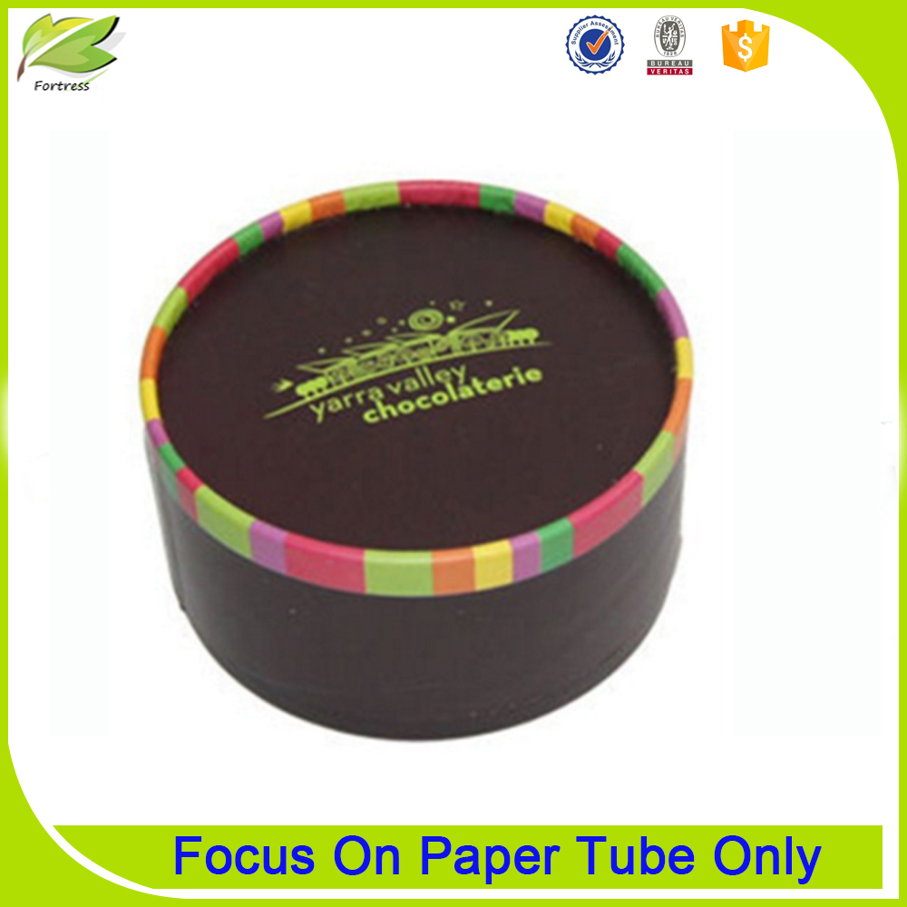 Fasionable Beautiful Custom Paper Box Cookie Tube Gift