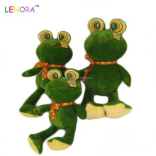 Best selling special design plush stuffed animals long leg baby toys frog for sale