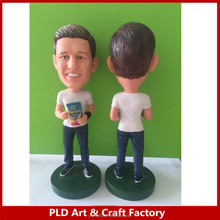 Customized Polyresin Bobble Head / Polyresin bobblehead