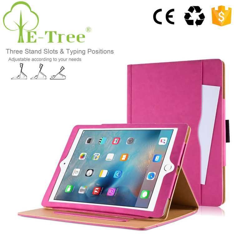 Luxury PU Leather Smart Tablet Stand Leather Kids Case For iPad Pro 9.7 inch