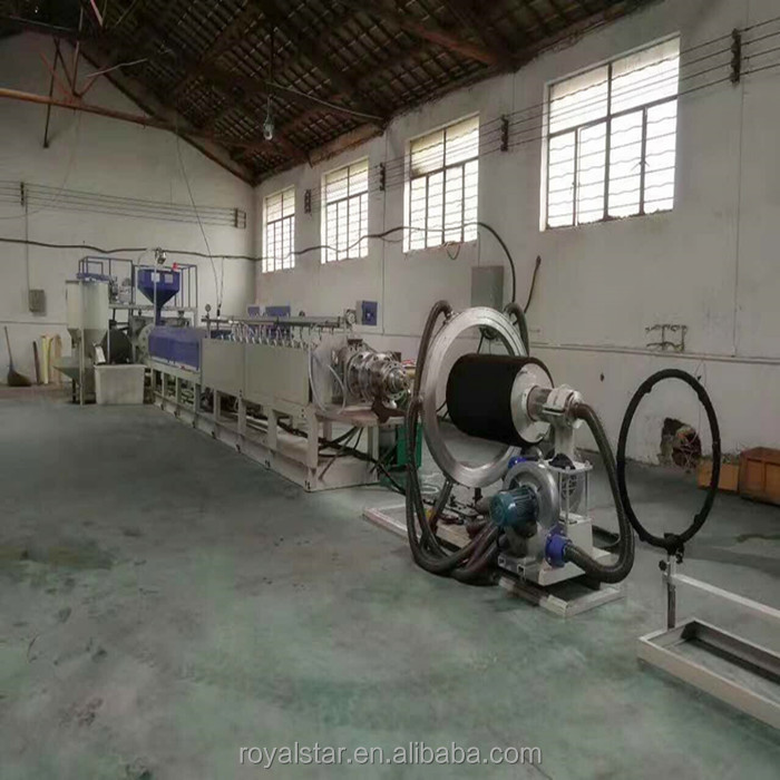 RSD-180EPE Foam sheet/pipe/rod profile Production Line,used for bed mattress