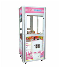 chinese supplier chocolate candy toy claw crane arcade game machine hot sale