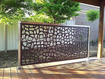 Decorative Metal Fence Panels Used For Garden