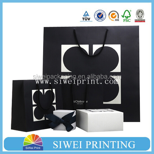 2015 custom cheap recycled decorate luxury branded design valentine kraft paper portfolio bag recycle for shipping