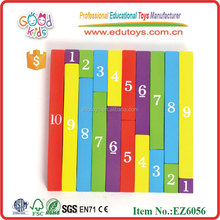 EZ6056 308 Pieces Cuisenaire Rods Wooden Math Toys
