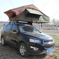 Outdoor camping pop up car cover rooftop tent with PVC cover