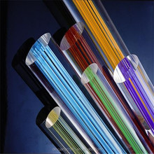 Colored Acrylic rod Customized Bubble