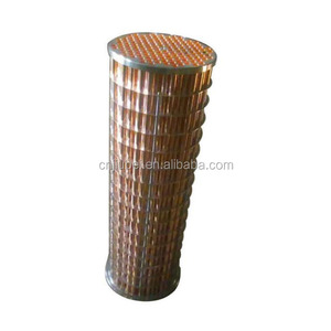 Air Compressor Parts Tube Radiator Copper Inter Cooler 1621700508 Air Compressor Heat Exchanger Electronic