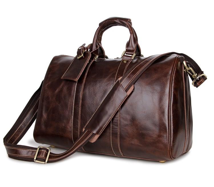 1ef26c7509ec Hot Sale Large Capacity Fashion Men Travel Bag Vintage Men Gym Duffle  Shoulder Handbag Tote Luggage Design Leather Luggage