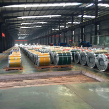 PPGI Coils, Color Coated Steel Coil Metal Roofing Sheets Building Materials