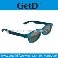 Low Price Bulk 3D Glasse for TCL Master Image RealD Sumsung Manufacture Passive Light Weight Polished ABS Plastic Frame CP297G01