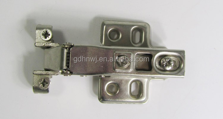 China supplier soft closing hydraulic aluminum frame hinge