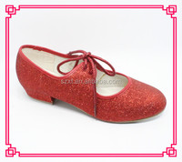 wholesale tap dance red tap shoes