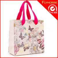 Brand Name Printing Folded Shopping Paper Bag