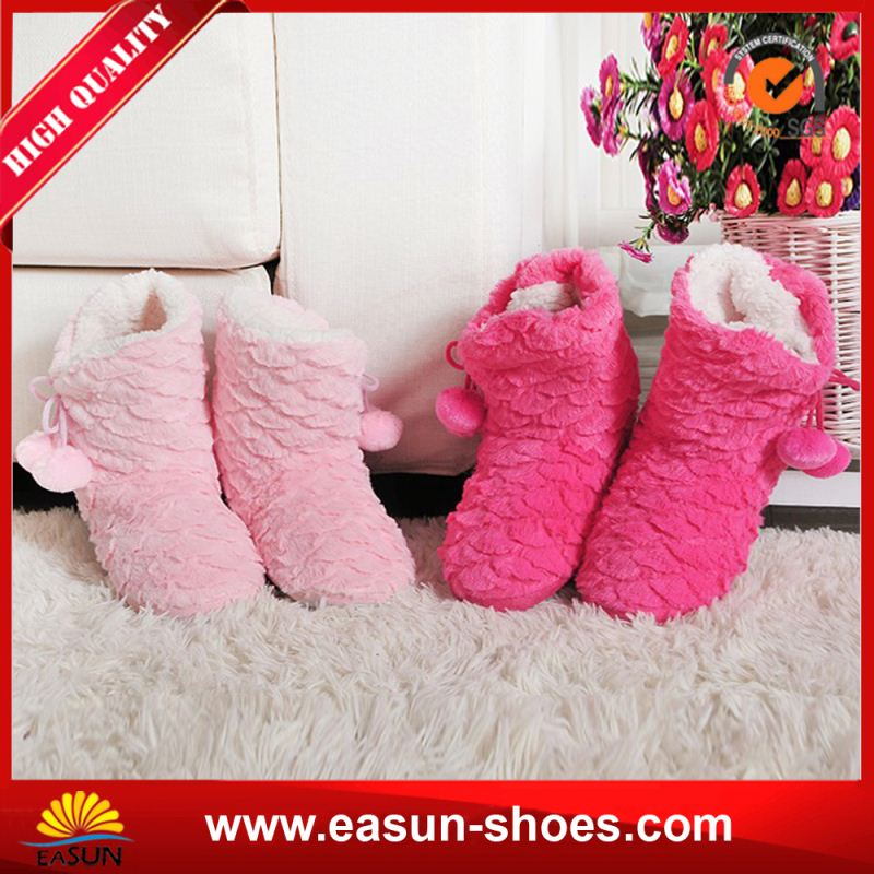 Free sample cheap sheepsin luxury women's boots fur women winter boots sheepskin ladies snow boots
