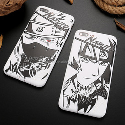 Full TPU protect cellphone cases naruto phone case/ anime phone case